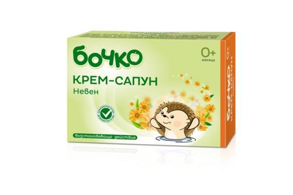 Бочко Бебешки сапун невен билков 75 гр. 838